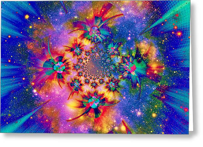 Mind Of God Greeting Cards - The Iscrutable Mind Of God Greeting Card by Aurelio Zucco