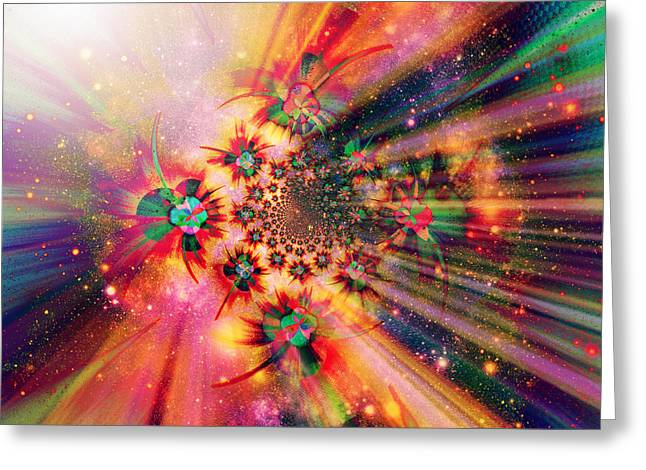 Mind Of God Greeting Cards - The Inscrutable Mind Of God II Greeting Card by Aurelio Zucco