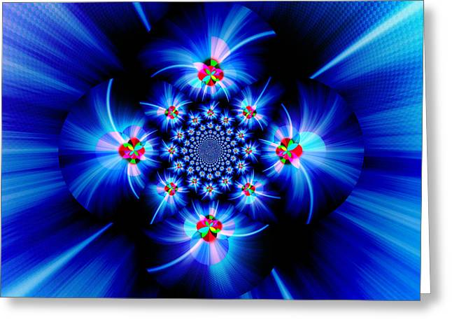 Mind Of God Greeting Cards - The Inscrutable Mind Of God V Greeting Card by Aurelio Zucco