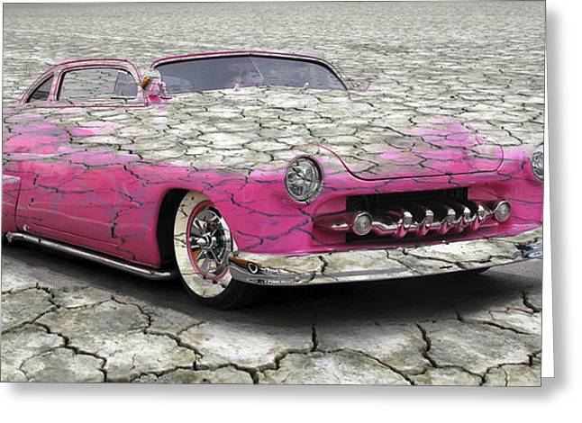 Graffitti Coupe Greeting Cards - The Mirage Greeting Card by Steve McKinzie