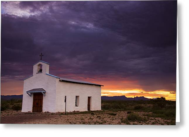 Scenic Greeting Cards - The Mission Trail Greeting Card by Aaron S Bedell