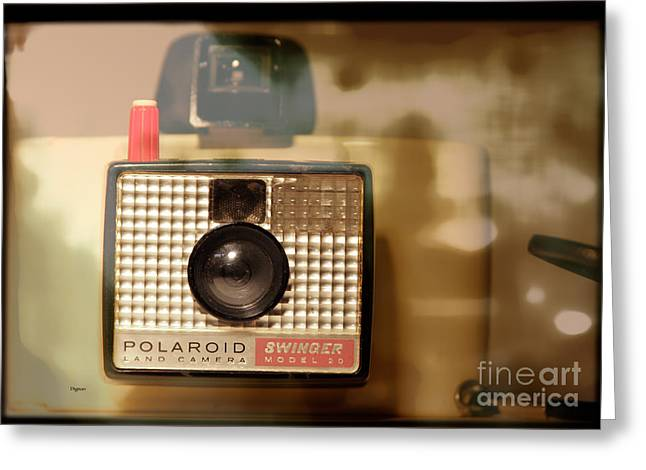 Polaroid Camera Greeting Cards - The Model 20 Greeting Card by Steven  Digman