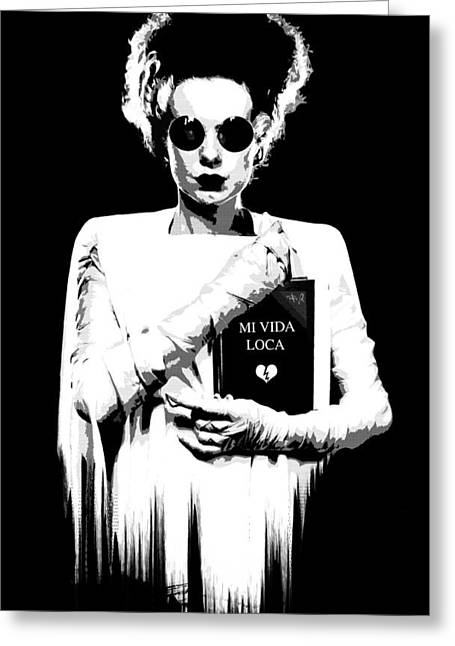 80s Pop Music Greeting Cards - The Modern Bride B Greeting Card by Filippo B