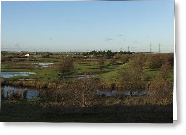 River Flooding Greeting Cards - The modern Country side Greeting Card by Patrioticalien