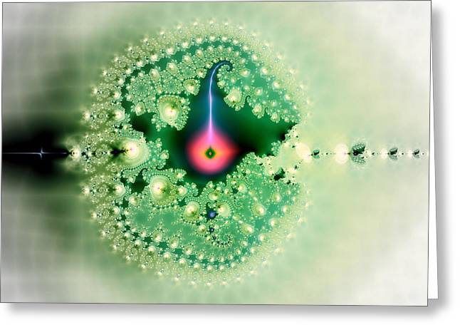 Insert Poster Greeting Cards - The Moment Of Conception Greeting Card by Renee Trenholm