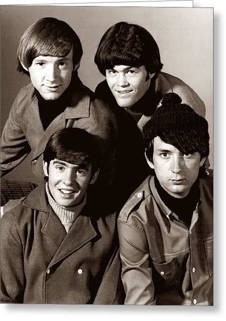 Peter Art Prints Posters Gallery Greeting Cards - The Monkees 2 Greeting Card by Movie Poster Prints