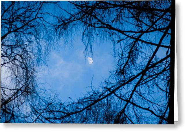 Kjg Greeting Cards - The moon Greeting Card by Mirra Photography