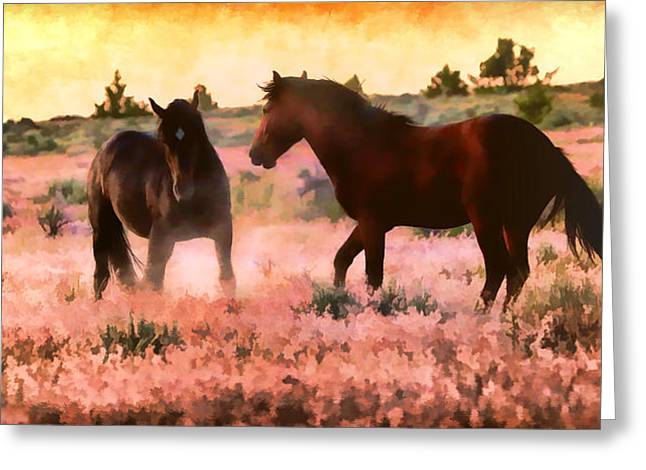 Vale Greeting Cards - The Morning After Greeting Card by Athena Mckinzie