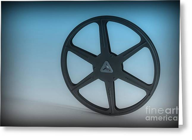 Home Theater Greeting Cards - The Movie Reel Greeting Card by Paul Ward