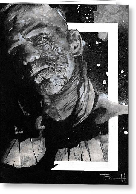 Mary Shelley Greeting Cards - The Mummy Greeting Card by Sean Parnell