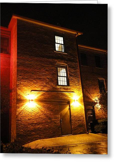Guy Ricketts Photography Greeting Cards - The Mysterious Stranger Upstairs Greeting Card by Guy Ricketts