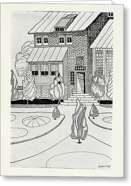 The Narrator's Home Greeting Card by British Library