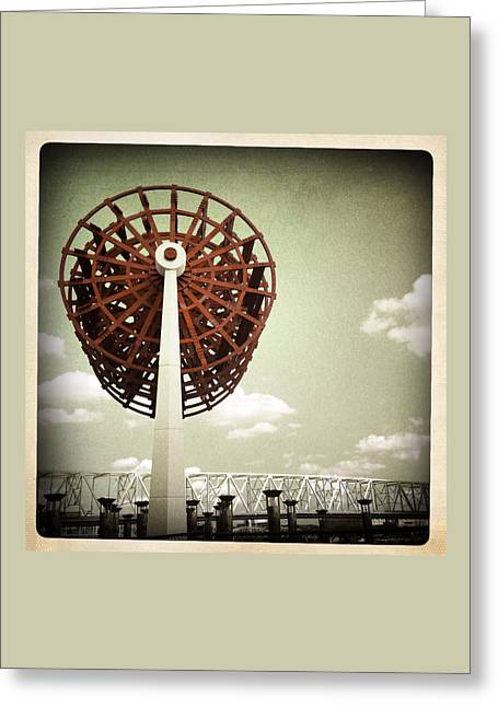 Steamboat Greeting Cards - The National Steamboat Monument Greeting Card by Natasha Marco