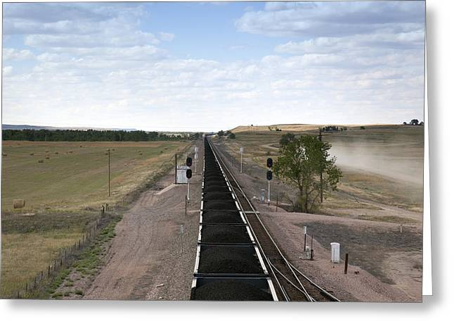 Railway Transportation Greeting Cards - The Nations Roadway Greeting Card by Mountain Dreams