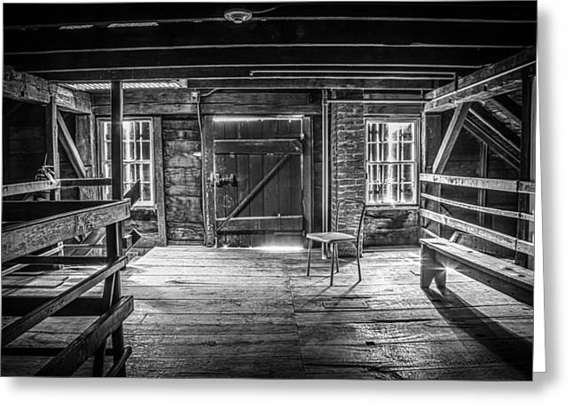 Grist Mill Greeting Cards - The New Chair Greeting Card by Ray Congrove
