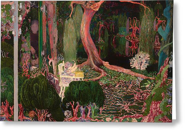 Tree Roots Paintings Greeting Cards - The New Genration Greeting Card by Jan Toorop