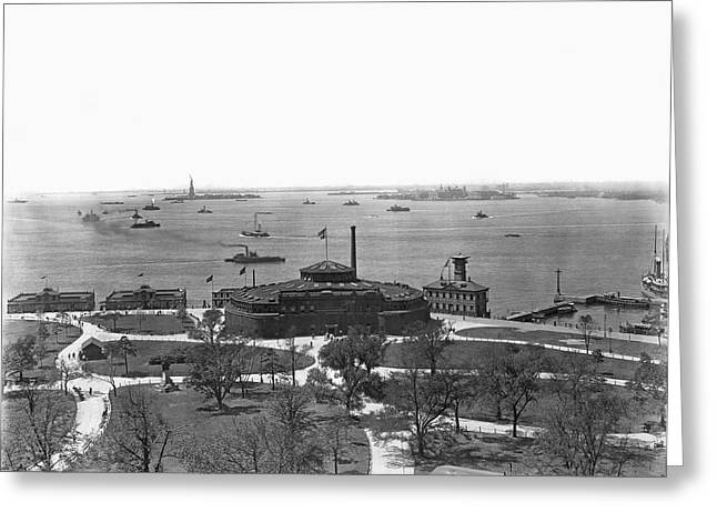 The New York Aquarium Greeting Card by Underwood Archives