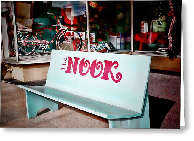 The Nook Greeting Card by Charrie Shockey