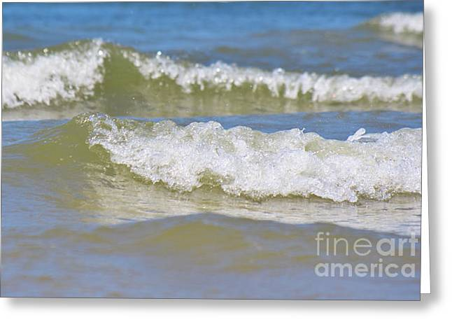 North Sea Greeting Cards - The North Sea Greeting Card by Angela Doelling AD DESIGN Photo and PhotoArt