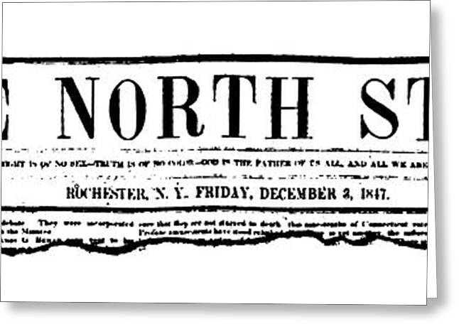 The North Star, 1847 Greeting Card by Granger