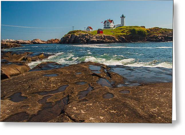 The Nubble Greeting Card by Brian MacLean