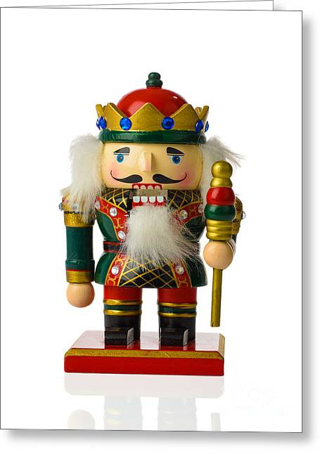 Isolated On White Greeting Cards - The Nutcracker Greeting Card by Amanda And Christopher Elwell