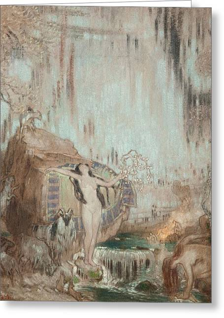 Nymph Greeting Cards - The Nymph Of Malham Cove Greeting Card by William Shackleton