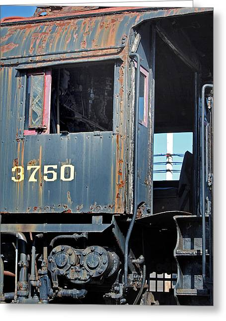 Train Rides Greeting Cards - The Office Greeting Card by Skip Willits