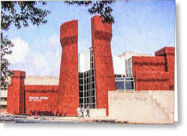 Ike Krieger Greeting Cards - The Ohio State University Wexner Center Greeting Card by Ike Krieger