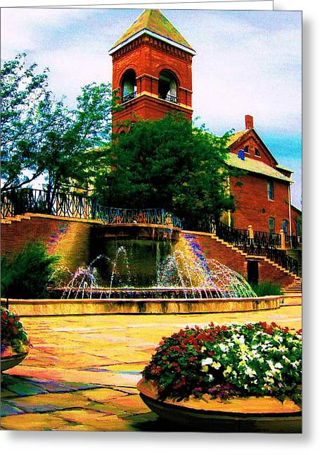 Indiana Rivers Digital Greeting Cards - The Old Church Greeting Card by P Dwain Morris