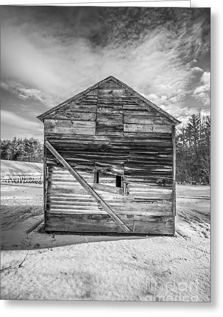 Outbuilding Greeting Cards - The Old Corn Crib Greeting Card by Edward Fielding