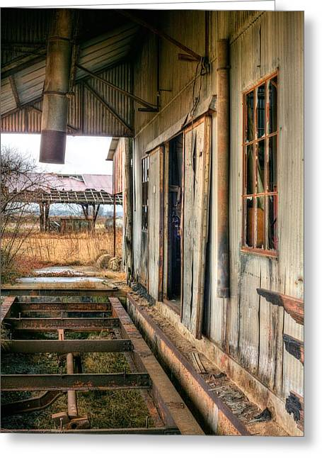 The Old Cotton Gin Greeting Card by JC Findley
