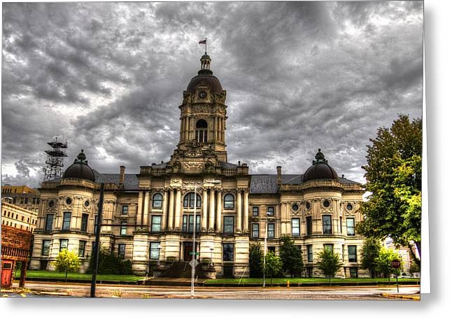 Carter House Greeting Cards - The Old Court House Greeting Card by Todd Carter