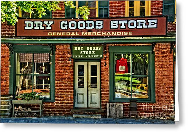Harpers Ferry Greeting Cards - The Old Dry Goods Greeting Card by Paul W Faust -  Impressions of Light