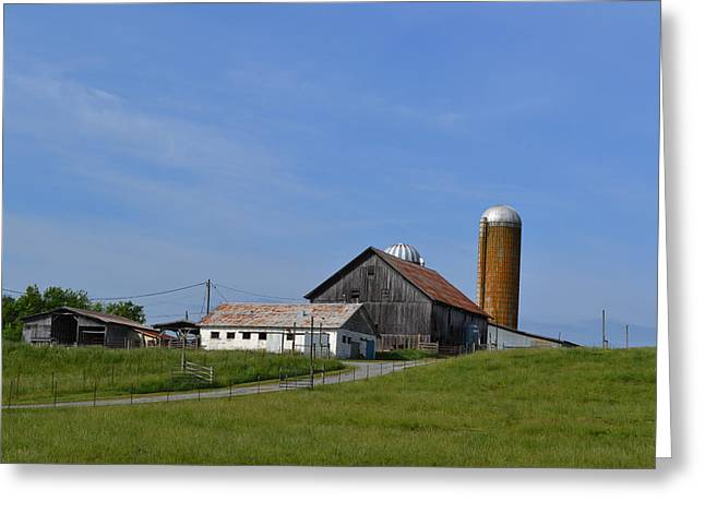 Tennessee Barn Greeting Cards - The Old Farm Greeting Card by RoyD Erickson