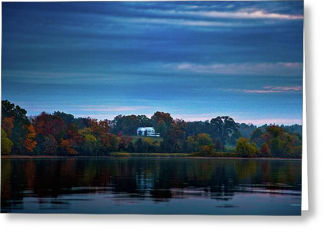 Tennessee River Greeting Cards - The Old Ferry House Greeting Card by Steven Llorca