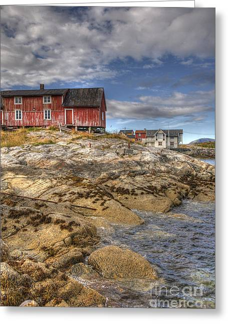 Abandonded Greeting Cards - The Old Fishermans Hut Greeting Card by Heiko Koehrer-Wagner