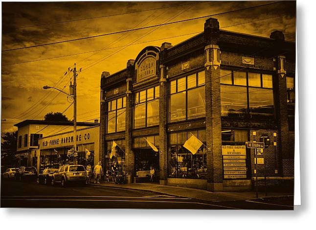 Hardware Greeting Cards - The Old Forge Hardware Company Greeting Card by David Patterson
