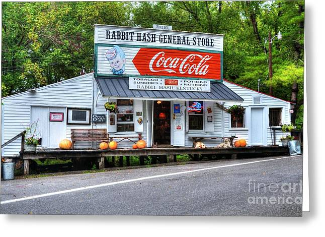 Historic Country Store Greeting Cards - The Old General Store Greeting Card by Mel Steinhauer