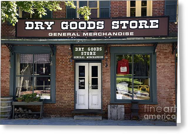 Harpers Ferry Greeting Cards - The Old General Store Greeting Card by Paul W Faust -  Impressions of Light