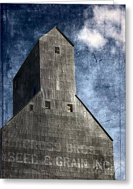 Granary Greeting Cards - The Old Granary Greeting Card by Bonnie Bruno