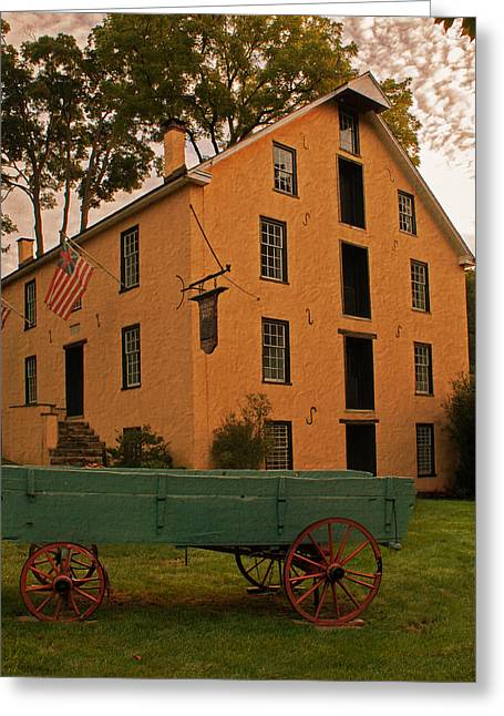 Grist Mill Greeting Cards - The Old Grist Mill Greeting Card by Michael Porchik