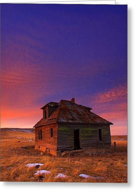 Old House Photographs Greeting Cards - The Old House Greeting Card by Kadek Susanto
