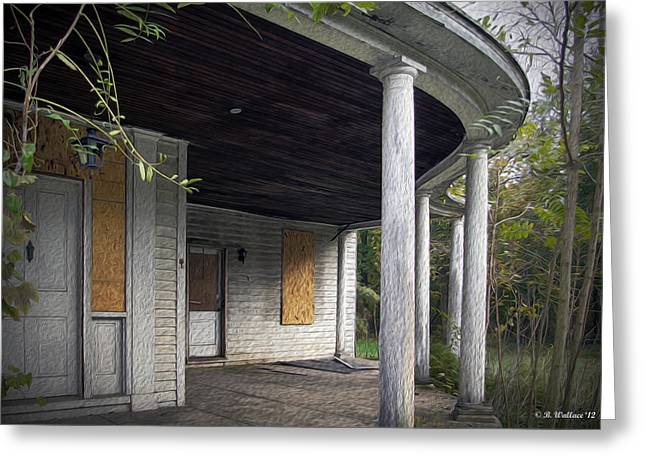 Old Home Place Digital Greeting Cards - The Old Lowman Place Greeting Card by Brian Wallace