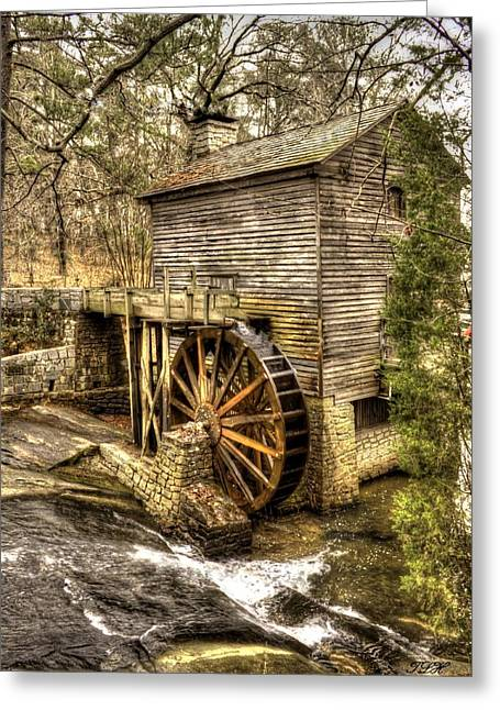 Stream Greeting Cards - The Old Mill Greeting Card by Debra Forand