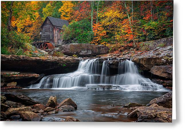 Mcconnells Mill Greeting Cards - The old Mill  Greeting Card by Emmanuel Panagiotakis