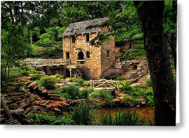 Grist Mills Greeting Cards - The Old Mill  Greeting Card by Gregory Ballos