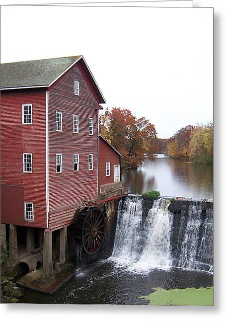 Old Feed Mills Photographs Greeting Cards - The Old Mill Greeting Card by Jacalyn Feit