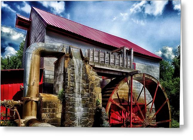The Old Mill Of Guilford Greeting Card by Mountain Dreams