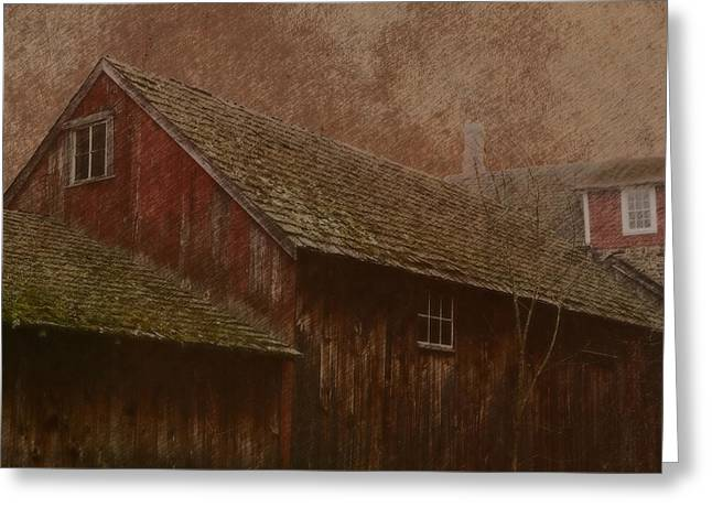 The Old Mill Greeting Card by Photographic Arts And Design Studio